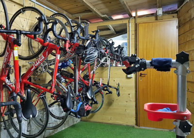 Bike Storage Room - Hotel Montemerlo